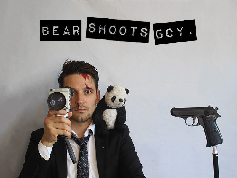 A lonely young man struggles to finish the film he's making with his best friend, a wisecracking teddy, named Bear.